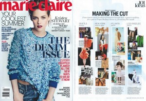 Marie Claire - Candace article